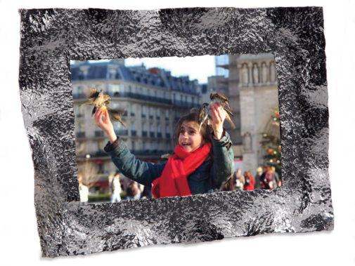 """Pildiraam """"Crumpled"""" - kingitus Mukul Goyal"""