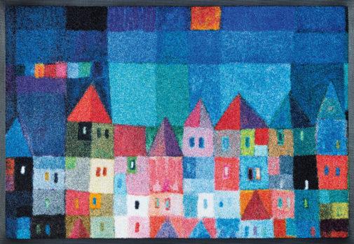 Vaip Colourful Houses 50x75cm