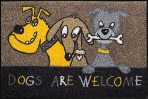 Vaip 50x75_Dogs_Are_Welcome