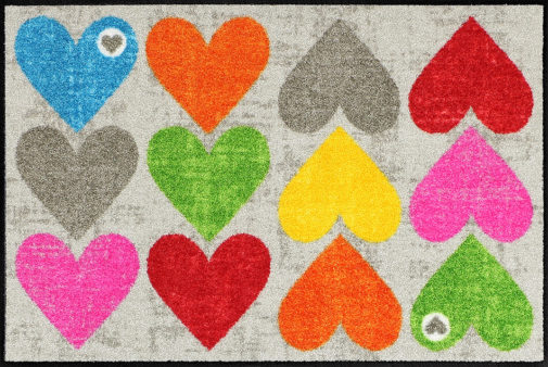 Vaip 50x75-Colourful_Hearts