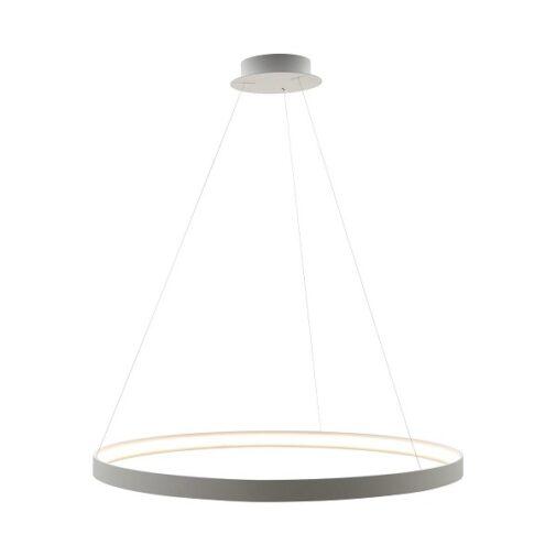 Rippvalgusti Circle White 110 cm LA0717-1-WH